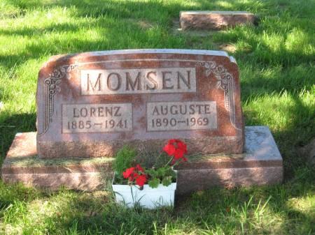 MOMSEN, AUGUSTE - Clay County, Iowa | AUGUSTE MOMSEN