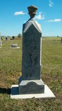 MOORE, WILLIAM W. - Clay County, Iowa   WILLIAM W. MOORE