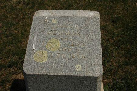 NEWMAN, GEORGE H. - Clay County, Iowa   GEORGE H. NEWMAN