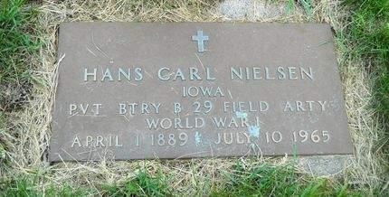 NIELSEN, HANS CARL - Clay County, Iowa   HANS CARL NIELSEN