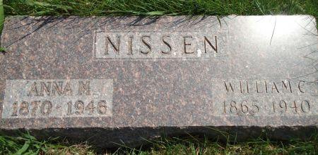 NISSEN, ANNA M. - Clay County, Iowa | ANNA M. NISSEN