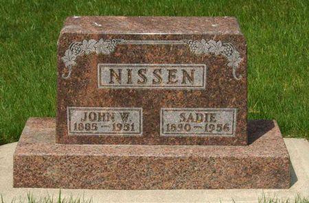NISSEN, JOHN W. - Clay County, Iowa | JOHN W. NISSEN