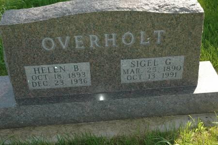 OVERHOLT, HELEN B. - Clay County, Iowa   HELEN B. OVERHOLT