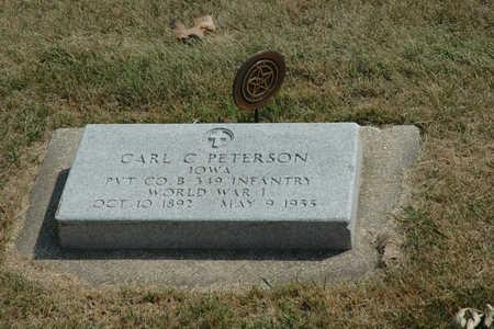 PETERSON, CARL C. - Clay County, Iowa | CARL C. PETERSON