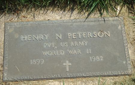 PETERSON, HENRY N. - Clay County, Iowa   HENRY N. PETERSON