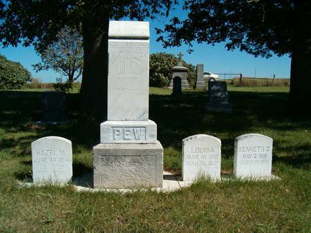 PEW, HAZEL M. - Clay County, Iowa | HAZEL M. PEW