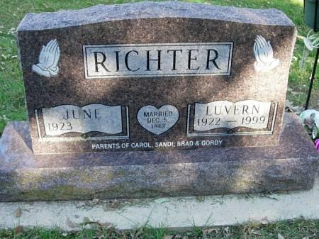 RICHTER, LUVERN - Clay County, Iowa | LUVERN RICHTER