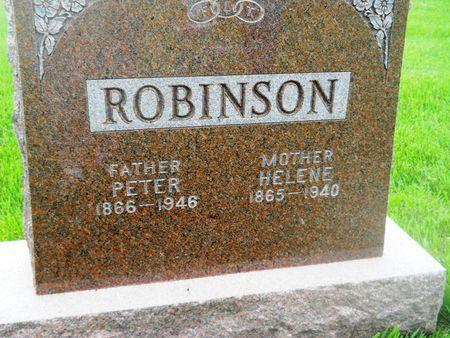 ROBINSON, PETER - Clay County, Iowa   PETER ROBINSON