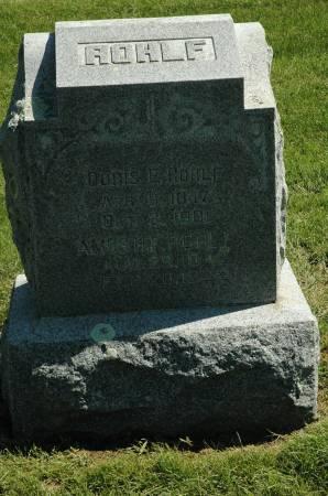 ROHLF, AMOS H. F. - Clay County, Iowa | AMOS H. F. ROHLF