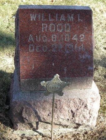 ROOD, WILLIAM I. - Clay County, Iowa | WILLIAM I. ROOD