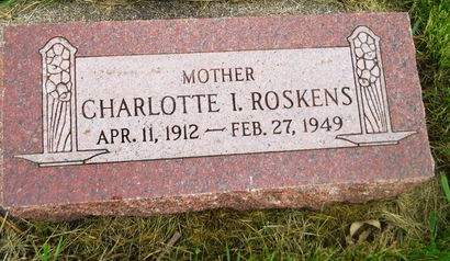 ROSKENS, CHARLOTTE I. - Clay County, Iowa | CHARLOTTE I. ROSKENS