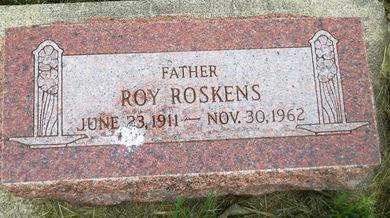ROSKENS, ROY - Clay County, Iowa   ROY ROSKENS