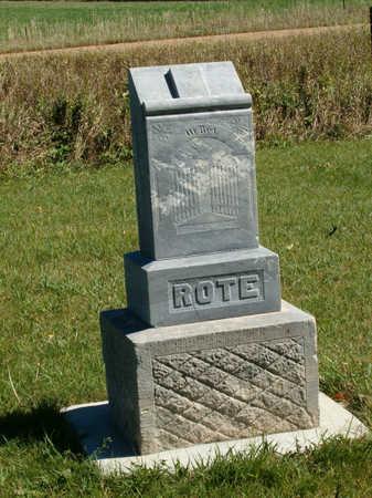 ROTE, MICHAEL T. - Clay County, Iowa | MICHAEL T. ROTE