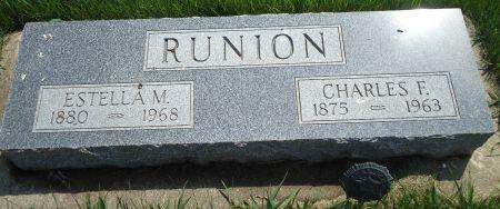 RUNION, ESTELLA M. - Clay County, Iowa | ESTELLA M. RUNION