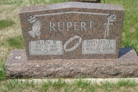 RUPERT, PHYLLIS E. - Clay County, Iowa | PHYLLIS E. RUPERT
