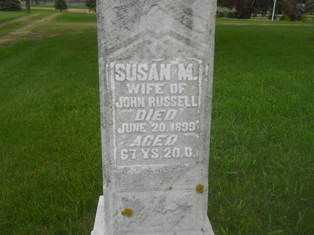 RUSSELL, SUSAN M. - Clay County, Iowa | SUSAN M. RUSSELL