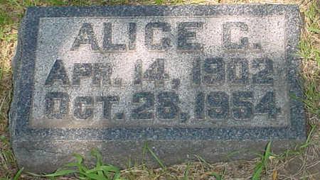 SCHMID, ALICE CATHERINE - Clay County, Iowa   ALICE CATHERINE SCHMID