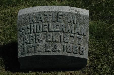 SCHOELERMAN, KATIE M. - Clay County, Iowa   KATIE M. SCHOELERMAN