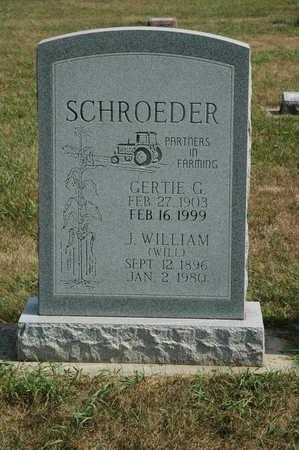 SCHROEDER, GERTIE G. - Clay County, Iowa | GERTIE G. SCHROEDER