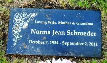 SCHROEDER, NORMA JEAN - Clay County, Iowa | NORMA JEAN SCHROEDER
