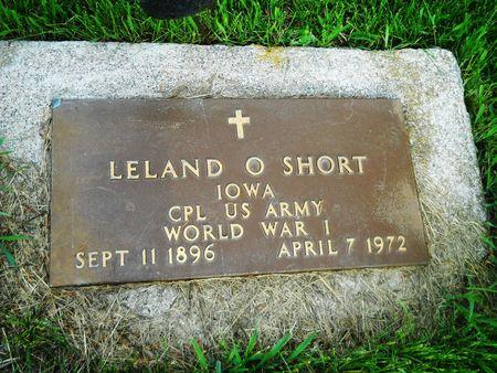SHORT, LELAND O. - Clay County, Iowa | LELAND O. SHORT