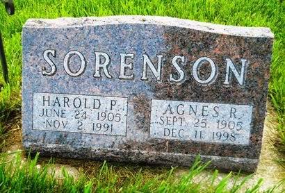 SORENSON, HAROLD P. - Clay County, Iowa | HAROLD P. SORENSON
