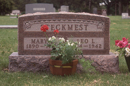 STECKMEST, MARY - Clay County, Iowa   MARY STECKMEST