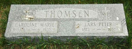 THOMSEN, LARS PETER - Clay County, Iowa | LARS PETER THOMSEN