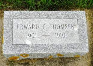 THOMSEN, EDWARD C. - Clay County, Iowa | EDWARD C. THOMSEN