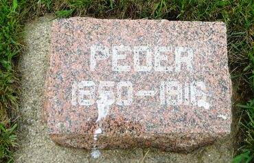 THOMSEN, PEDER - Clay County, Iowa   PEDER THOMSEN
