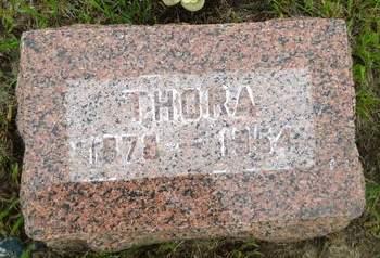 THOMSEN, THORA - Clay County, Iowa | THORA THOMSEN
