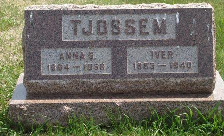 TJOSSEM, IVER - Clay County, Iowa | IVER TJOSSEM