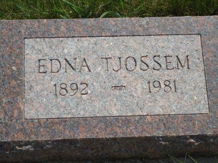 TJOSSEM, EDNA - Clay County, Iowa | EDNA TJOSSEM