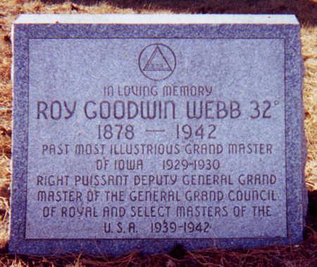 WEBB, ROY GOODWIN - Clay County, Iowa | ROY GOODWIN WEBB