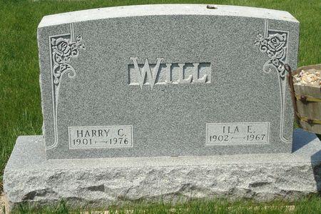 WILL, HARRY C. - Clay County, Iowa   HARRY C. WILL