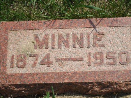 YEOMAN, MINNIE - Clay County, Iowa   MINNIE YEOMAN