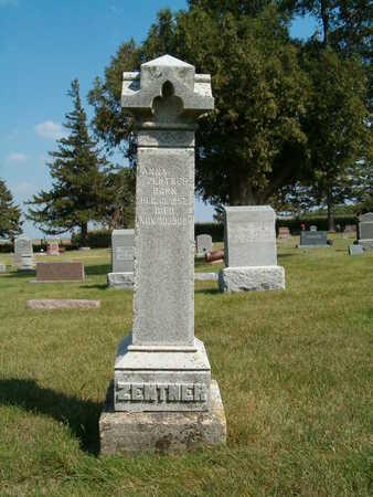 ZENTER, ANNA - Clay County, Iowa | ANNA ZENTER