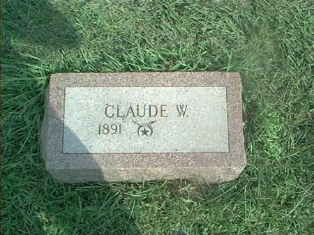 BORRETT, CLAUDE W - Clay County, Iowa | CLAUDE W BORRETT