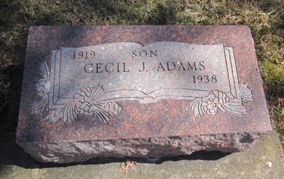 ADAMS, CECIL J. - Clayton County, Iowa | CECIL J. ADAMS