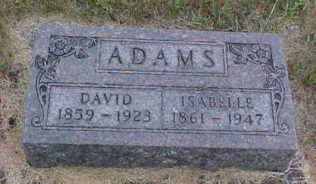 ADAMS, ISABELLE - Clayton County, Iowa | ISABELLE ADAMS