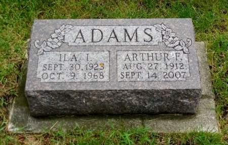ADAMS, ILA I. - Clayton County, Iowa | ILA I. ADAMS