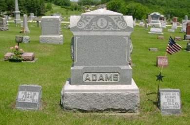 ADAMS, POLLY M - Clayton County, Iowa | POLLY M ADAMS