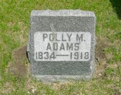 HOWARD ADAMS, POLLY M - Clayton County, Iowa | POLLY M HOWARD ADAMS