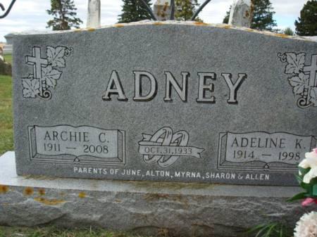 ANENY, ARCHIE C. - Clayton County, Iowa   ARCHIE C. ANENY
