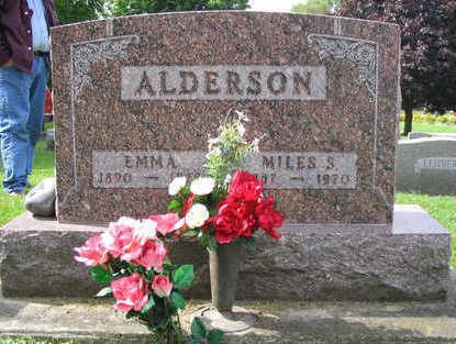 MEYER ALDERSON, EMMA - Clayton County, Iowa   EMMA MEYER ALDERSON