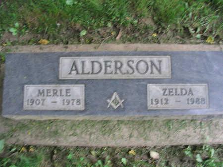 ALDERSON, ZELDA - Clayton County, Iowa | ZELDA ALDERSON
