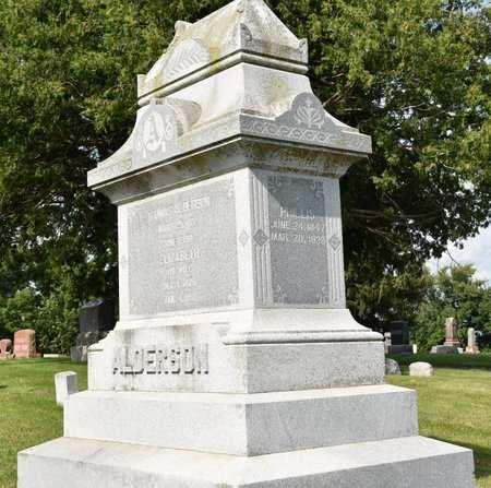 ALDERSON, PHILLIS - Clayton County, Iowa | PHILLIS ALDERSON