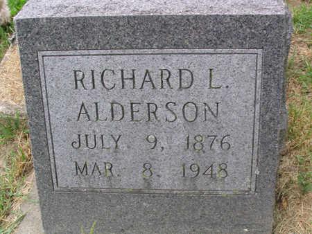 ALDERSON, RICHARD L. - Clayton County, Iowa | RICHARD L. ALDERSON