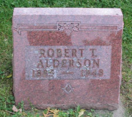 ALDERSON, ROBERT T. - Clayton County, Iowa   ROBERT T. ALDERSON