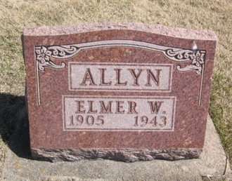 ALLYN, ELMER W. - Clayton County, Iowa | ELMER W. ALLYN